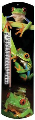 Heritage America by MORCO 375FROG Frog Outdoor or Indoor Thermometer