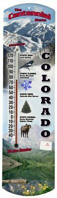 Heritage America by MORCO 375CO Colorado Outdoor or Indoor Thermometer