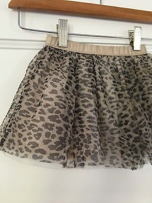 Gymboree Girls Tulle Skirt - Leopard - 18 to 24 Months -  NEW