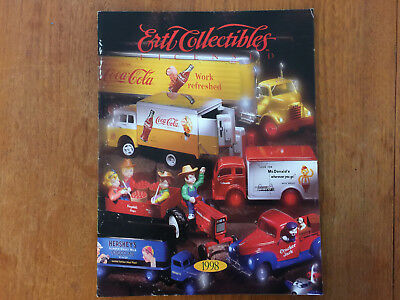 Book 1998 ERTL COLLECTIBLES TOY CATOLOGE.11 INCHES BY 8 INCH, 32 PLAGES.
