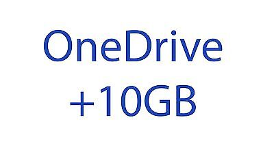 Microsoft OneDrive +10GB Referral Bonus Permanent Space