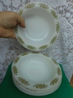 Set of 4 Vintage ANCHOR HOCKING BOWLS! Made in USA!