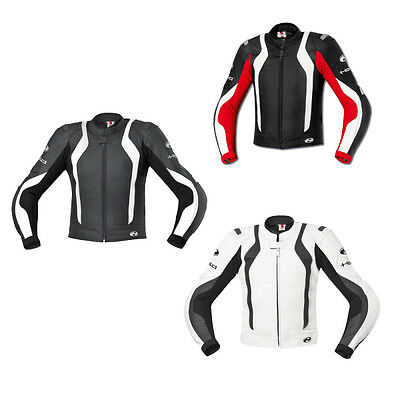 Held Street II Moto Motorcycle Mens Leather Sport Jacket All Colours & Sizes