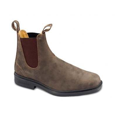 Blundstone 1306 Chelsea Leather Rustic Brown (A2) Mens Boots All Sizes