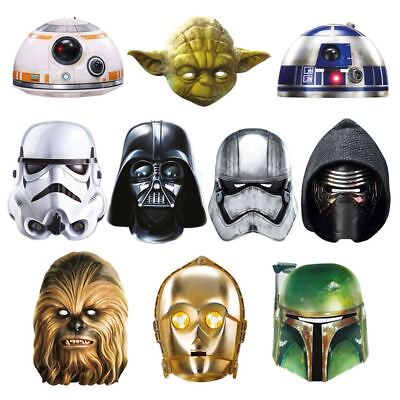 Star Wars Maskarade Party Mask Darth Vader Yoda Stormtrooper