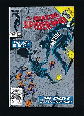 Amazing Spider-Man #265 *second Print* 1St Appearance Of Silver Sable Unpressed