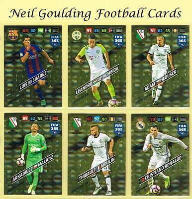 Panini FIFA 365 2018 ☆☆☆☆☆ LIMITED EDITION ☆☆☆☆☆ Football Cards