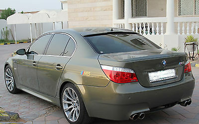 BMW E60 5series REAR BOOT AND WINDOW SPOILER (2004-2010)