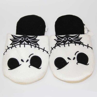 The Nightmare Before Christmas Jack Skellington Plush Slippers Indoor Shoes