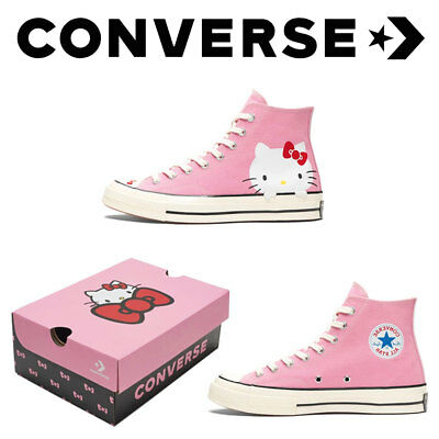 CONVERSE Hello Kitty Chuck Taylor All Star Hi Friends 70 Sneaker Pink  LIMITED 253ab303d0