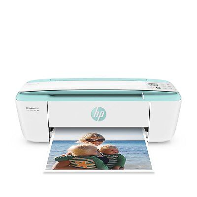 HP DeskJet 3720 blue Scanner copier WiFi world smallest printer