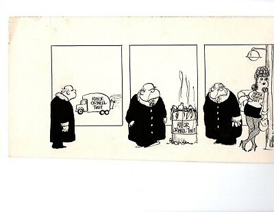 larry wright original art newspaper strip wright angles late 1970's 02/06