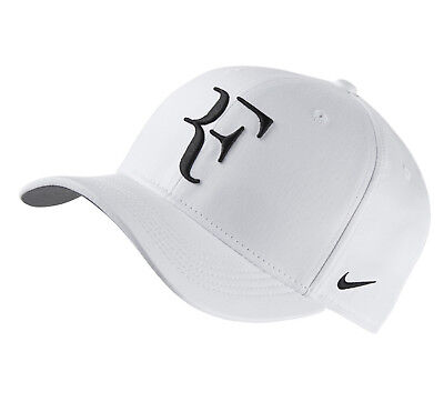Nike NikeCourt AeroBill Roger Federer RF Adjustable Tennis Hat Cap 868579-100
