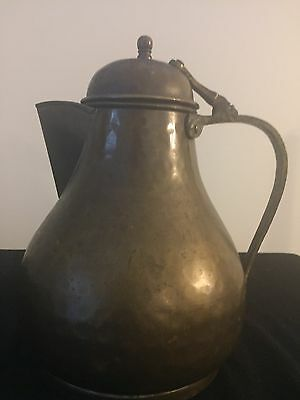 Antique Brass Coffee Pot