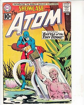 Showcase #34 first appearance of the Atom...see scans and description