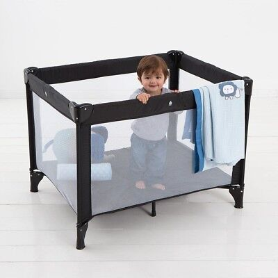 baby Travel Porta-Cot comfortable with padded mattress and carry bag new