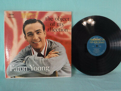 Faron Young, The Object Of My Affection, Capitol T 1004, 1958, PROMO, Country