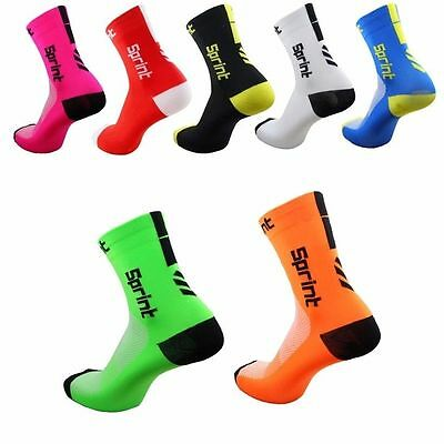 Breathable Road Bicycle Socks Outdoor Sports Racing Cycling