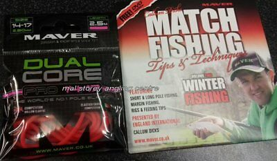 Maver Dual Core pro 14 - 17 Elastic + New Match Fishing Winter Fishing Volume 2