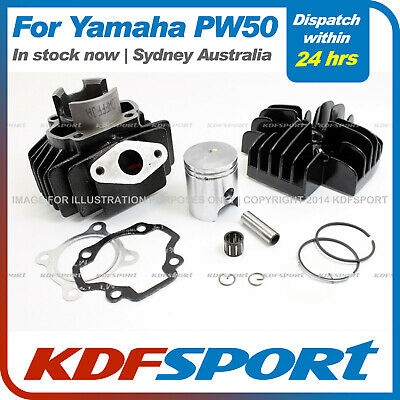 Peewee 50 Engine Cylinder Head Pw Py Piston Rebuild Kit Set For Yamaha Py50 Pw50