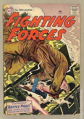 Our Fighting Forces (1954) #16 FR/GD 1.5