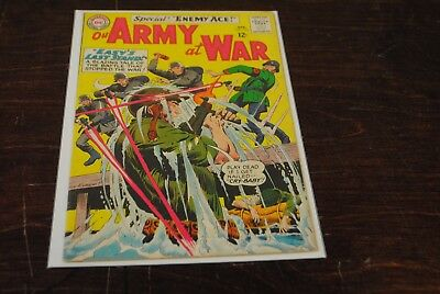 Our Army at War #153 VG 2ND Enemy Ace Key Book  DC Comics