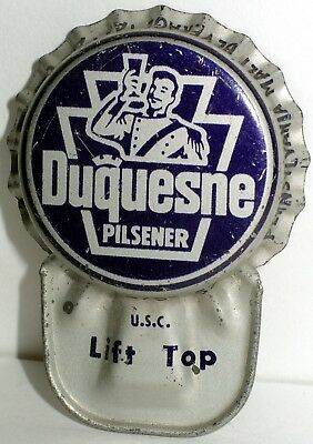 Duquesne Pilsener Beer Pittsburgh Pennsylvania Crown Lift Off Cap Baseball Hat 1