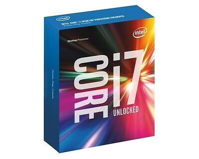 Intel i7 7700K BOX CPU, Prozessor, Quad Core, 4,2GHz, Kaby Lake LGA 1151