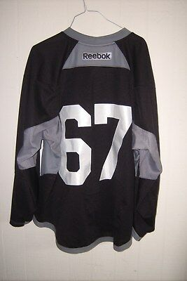 ARIZONA COYOTES Lawson Crouse worn black #67 practice jersey (2016-17 rookie yr)