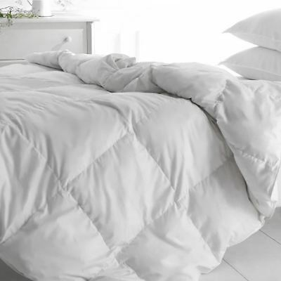Rest Assured Luxury Softened Goose Feather Double Duvet Quilt 13.5 Tog Bedding