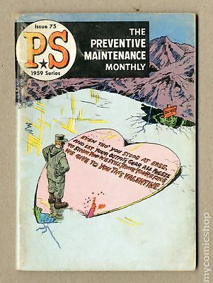 PS The Preventive Maintenance Monthly (1951) #75 VG 4.0