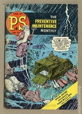 PS The Preventive Maintenance Monthly (1951) #107 VG- 3.5 LOW GRADE