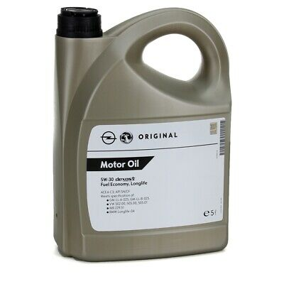 VAUXHALL VIVARO (01-14) GENUINE GM 5w30 FULLY SYNTHETIC  ENGINE OIL 5L