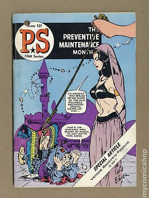 PS The Preventive Maintenance Monthly (1951) #137 VG+ 4.5
