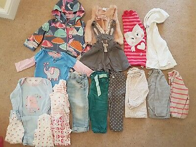 Toddler Girl Clothes Bundle 12-18 months, Next, H&M, George