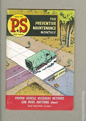 PS The Preventive Maintenance Monthly (1951) #54 FN 6.0