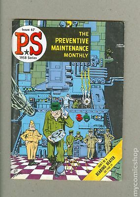 PS The Preventive Maintenance Monthly (1951) #67 FN 6.0