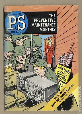 PS The Preventive Maintenance Monthly (1951) #132 VG+ 4.5