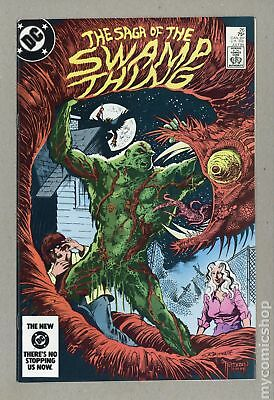 Swamp Thing (1982 2nd Series) #26 VF+ 8.5