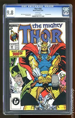 Thor (1962-1996 1st Series Journey Into Mystery) #382 CGC 9.8 1136734008