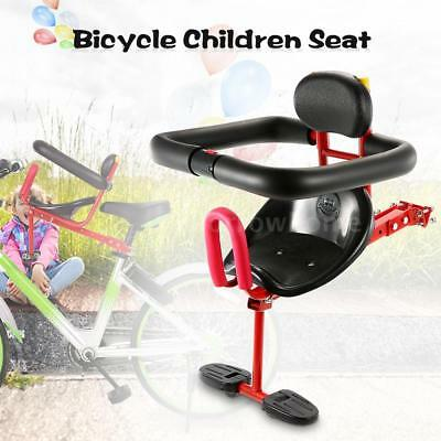 Safety Baby Kids Children Front Seats Bicycle Quick-release Bike Chairs P4E0
