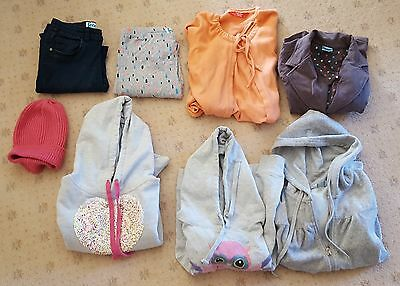 Bulk lot of girls clothes (size 9-12) and footware. Total of 22 items.