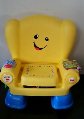 Fisher-Price Laugh Learn Smart Stages Chair 50+ Sing-Along Songs Tunes Phrases
