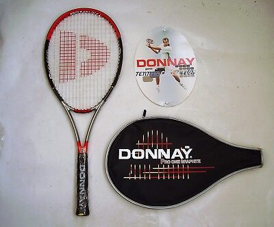 DONNAY Pro One Graphite Adult Tennis Racquet & Cover RRP$129