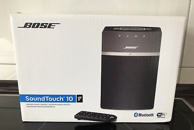 bose soundtouch 10 lautsprecher schwarz eur 144 99. Black Bedroom Furniture Sets. Home Design Ideas