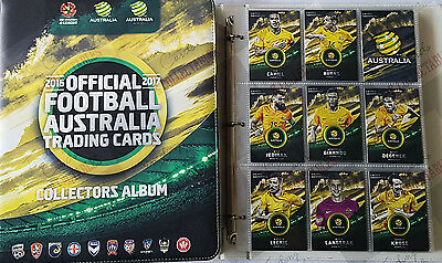 GIFT IDEAS  ~ 2016-17 tap n play FFA / A-League soccer set + folder + bonus card
