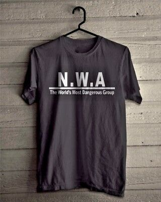 Nwa T Shirt Straight Outta Compton Dr Dre Ice Cube Eazy E Hip Hop Tee