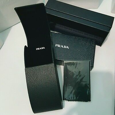 Authentic New Prada Case Box Bag Cleaning cloth for sunglasses & optical glasses