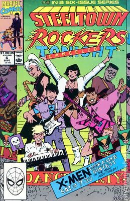 Steeltown Rockers (1990) #6 NM
