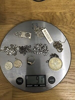 115g Mixed Lot Of Stirling Silver